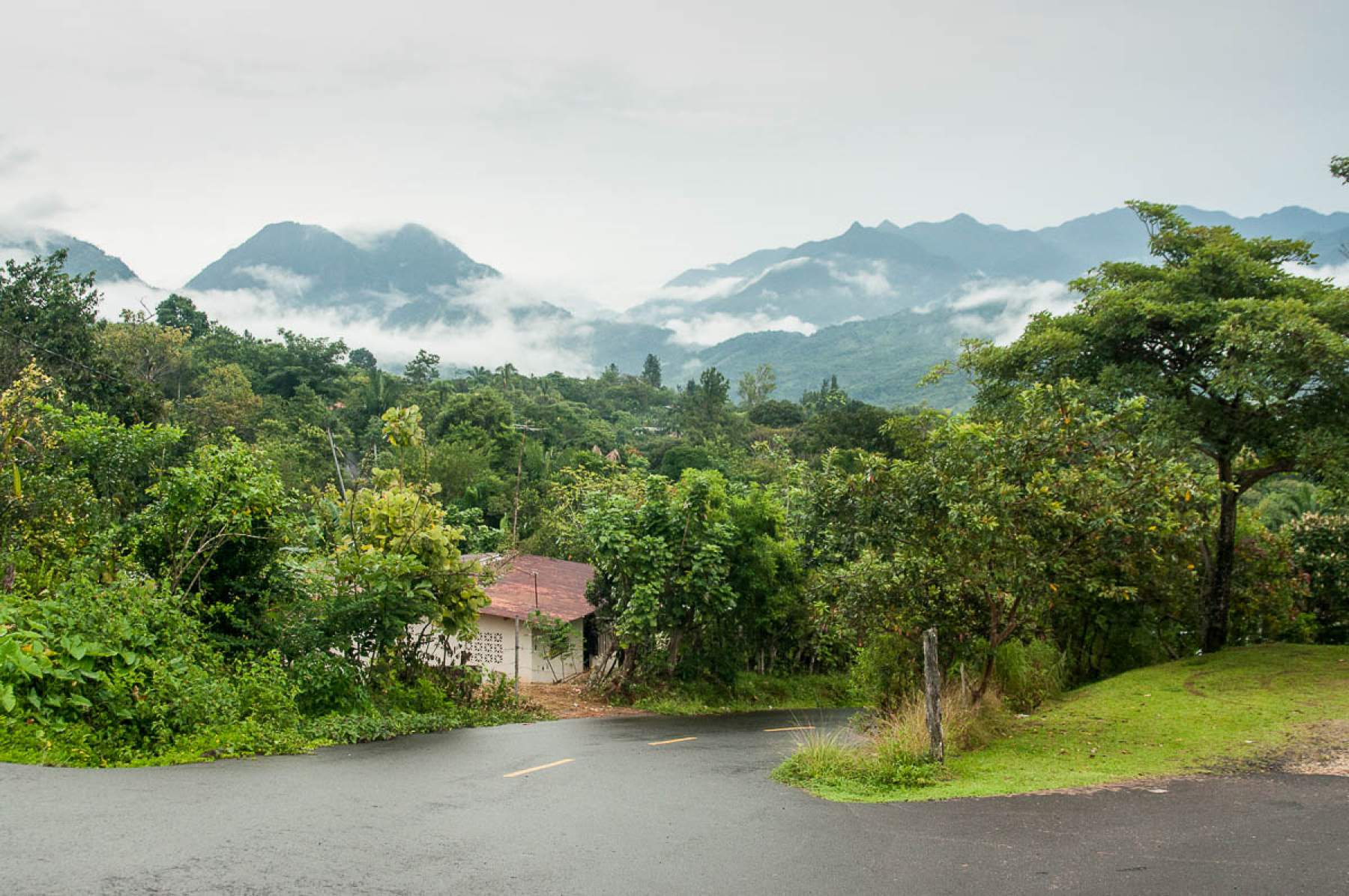 mountains in Panama